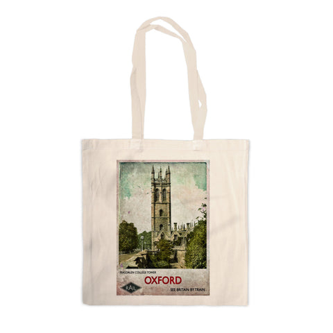 Magdalen College Tower, Oxford Canvas Tote Bag