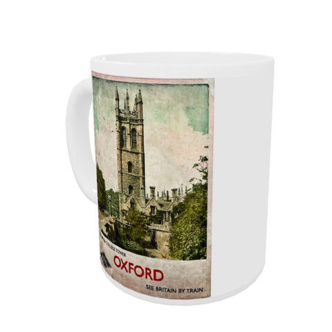 Magdalen College Tower, Oxford Coloured Insert Mug