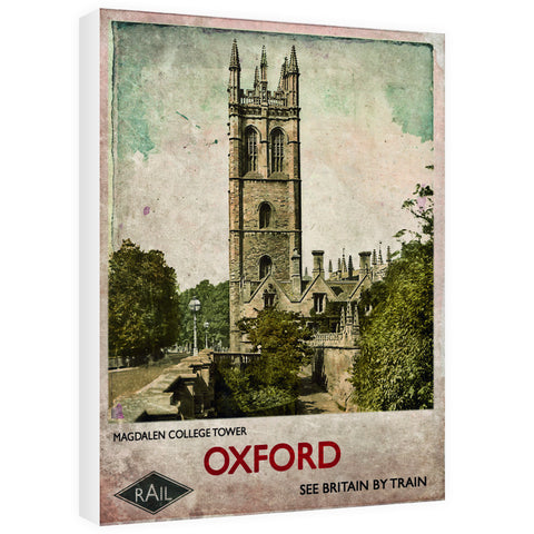 Magdalen College Tower, Oxford 60cm x 80cm Canvas