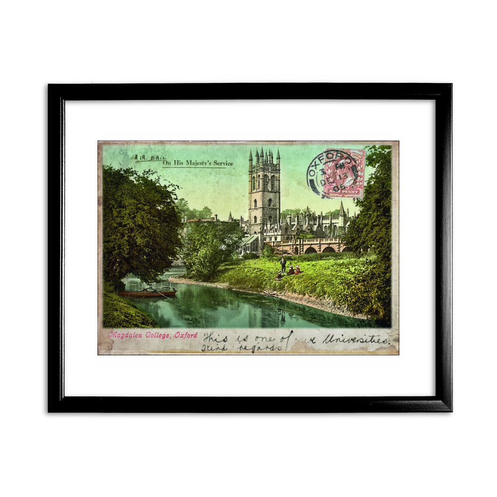 Magdalen College, Oxford Framed Print