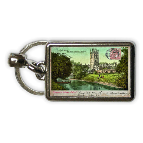 Magdalen College, Oxford Metal Keyring