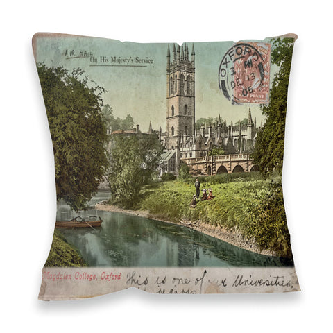 Magdalen College, Oxford Fibre Filled Cushion