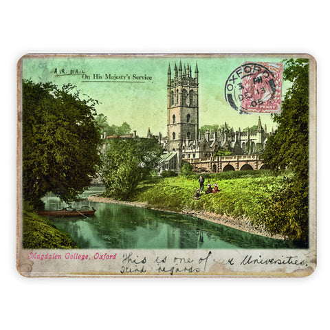 Magdalen College, Oxford Placemat