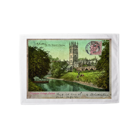 Magdalen College, Oxford Tea Towel