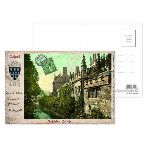 Magdalen College, Oxford Postcard Pack