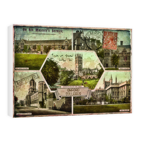 Oxford Colleges 60cm x 80cm Canvas