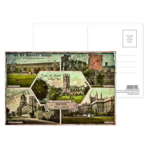 Oxford Colleges Postcard Pack