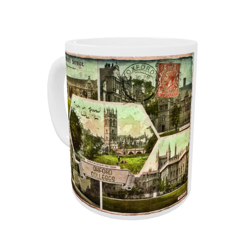 Oxford Colleges Coloured Insert Mug