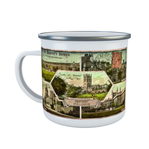 Oxford Colleges Enamel Mug