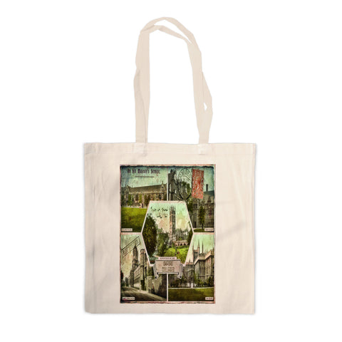 Oxford Colleges Canvas Tote Bag