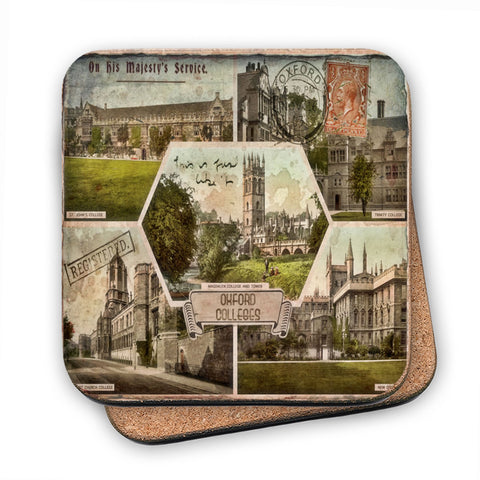 Oxford Colleges MDF Coaster