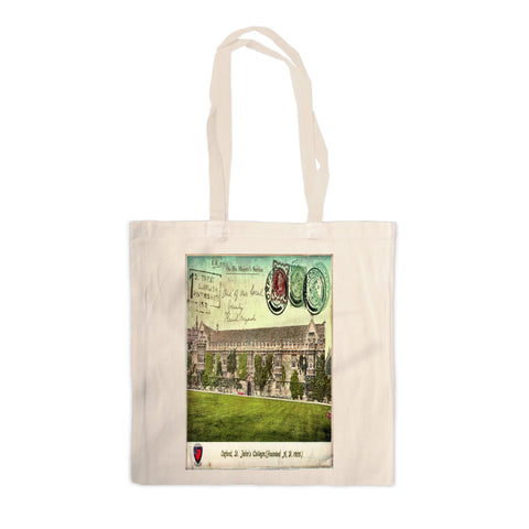 St Johns College, Oxford Canvas Tote Bag