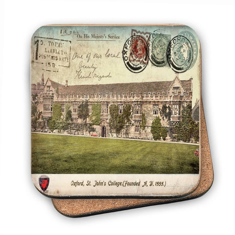 St Johns College, Oxford MDF Coaster