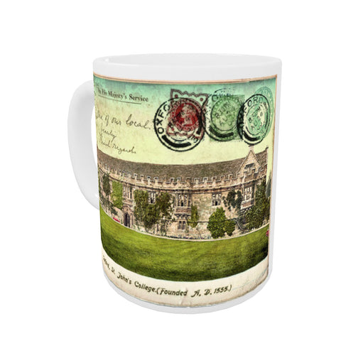 St Johns College, Oxford Coloured Insert Mug
