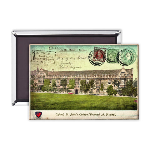 St Johns College, Oxford Magnet