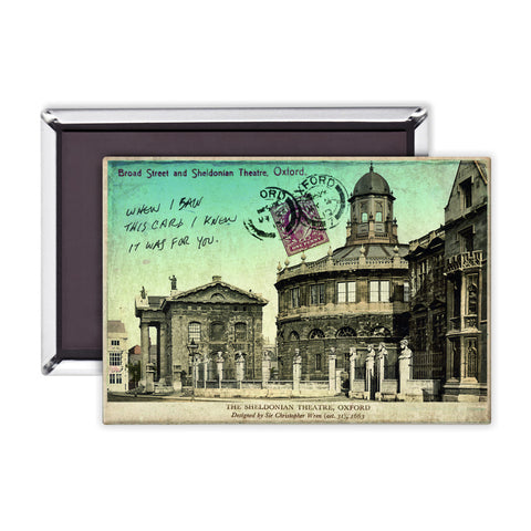 Broad Street and Sheldonian Theatre, Oxford Magnet