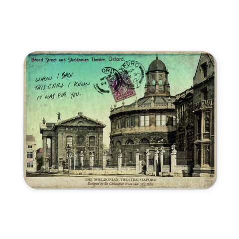 Broad Street and Sheldonian Theatre, Oxford Mouse Mat