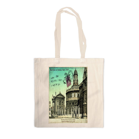 Broad Street and Sheldonian Theatre, Oxford Canvas Tote Bag