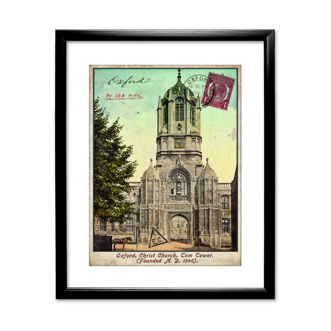 Christ Church College, Oxford Framed Print