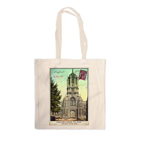 Christ Church College, Oxford Canvas Tote Bag