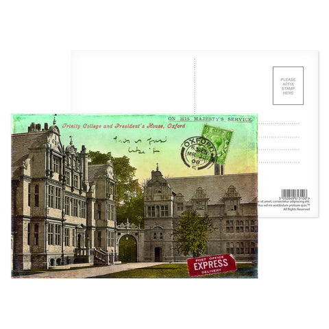 Trinity College, Oxford Postcard Pack