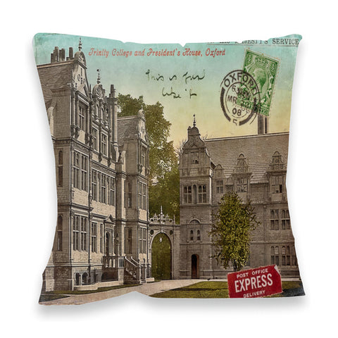 Trinity College, Oxford Fibre Filled Cushion