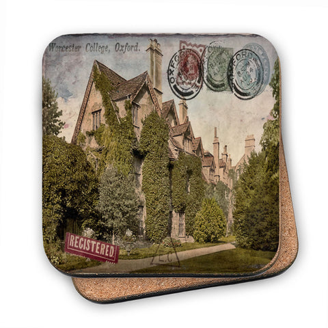 Worcester College, Oxford MDF Coaster