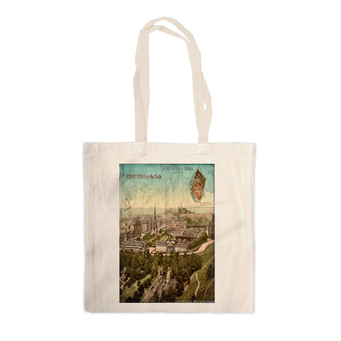 Edinburgh, Scotland Canvas Tote Bag