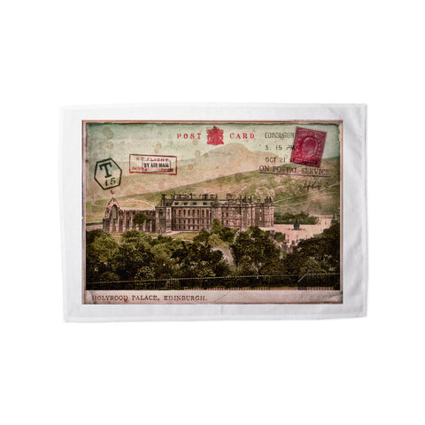 Holyrood Palace, Edinburgh, Scotland Tea Towel