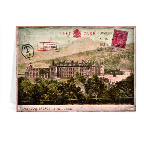 Holyrood Palace, Edinburgh, Scotland Greeting Card 7x5