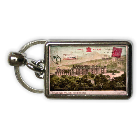 Holyrood Palace, Edinburgh, Scotland Metal Keyring
