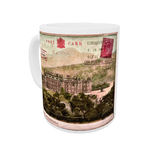 Holyrood Palace, Edinburgh, Scotland Coloured Insert Mug