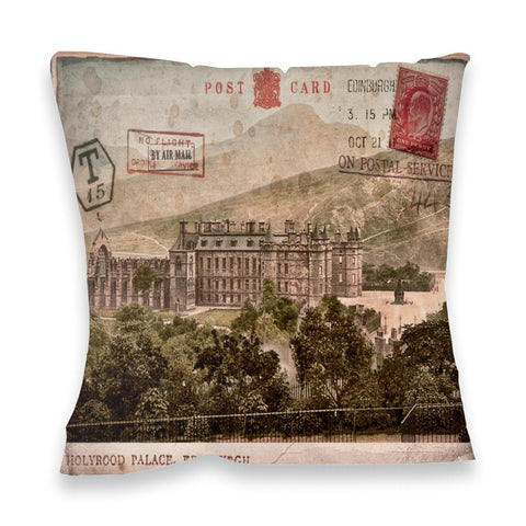 Holyrood Palace, Edinburgh, Scotland Fibre Filled Cushion