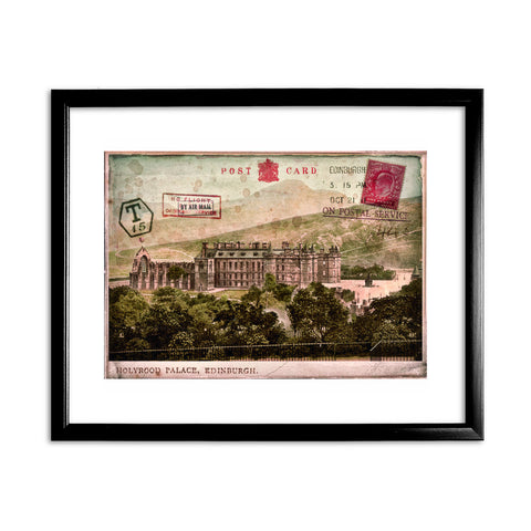 Holyrood Palace, Edinburgh, Scotland 11x14 Framed Print (Black)