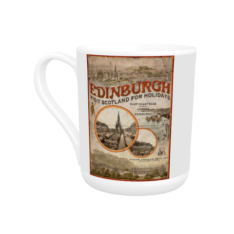 Edinburgh, Scotland Bone China Mug