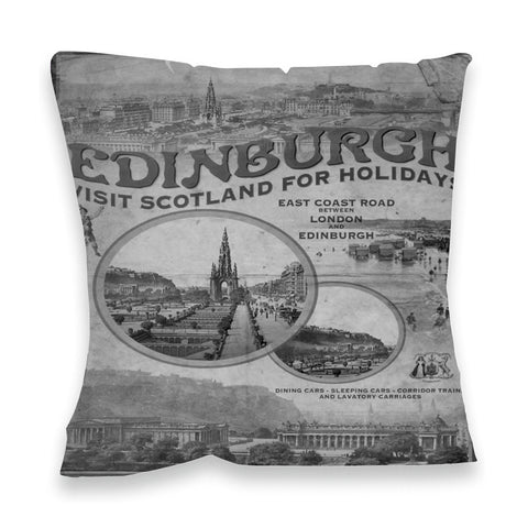 Edinburgh, Scotland Fibre Filled Cushion