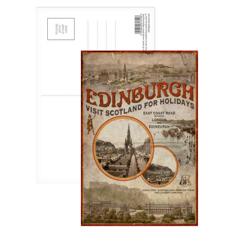 Edinburgh, Scotland Postcard Pack