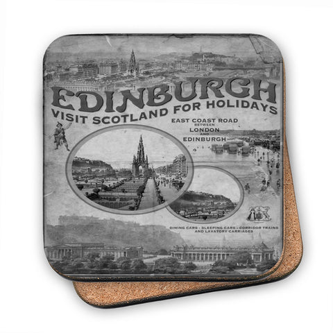 Edinburgh, Scotland MDF Coaster