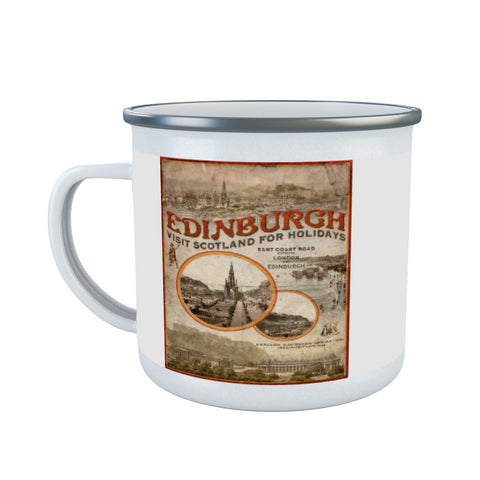Edinburgh, Scotland Enamel Mug
