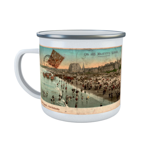 The Sands, Portobello, Scotland Enamel Mug