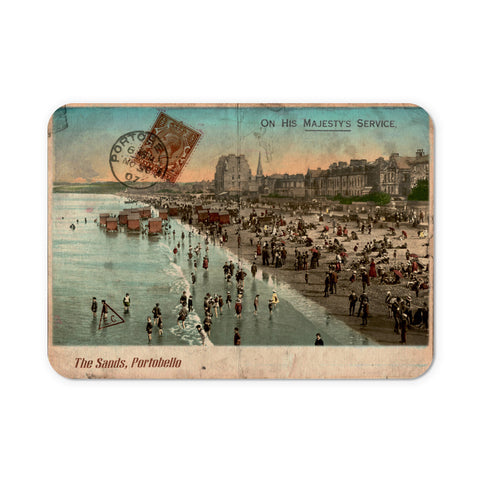 The Sands, Portobello, Scotland Mouse Mat