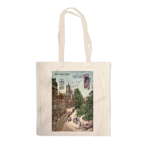 Bristol Cathedral Canvas Tote Bag