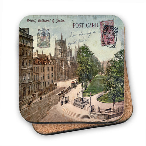 Bristol Cathedral MDF Coaster