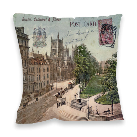 Bristol Cathedral Fibre Filled Cushion