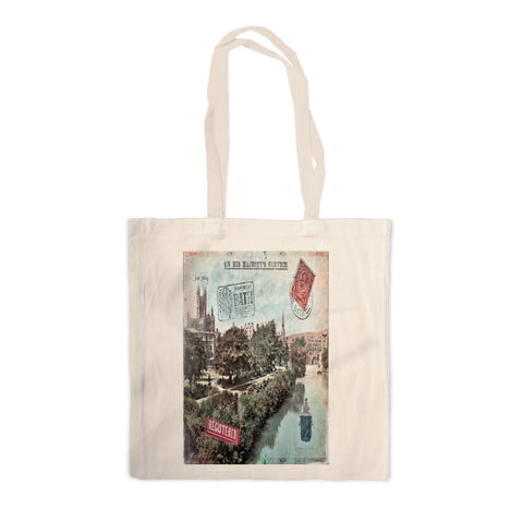 Bath Abbey Canvas Tote Bag