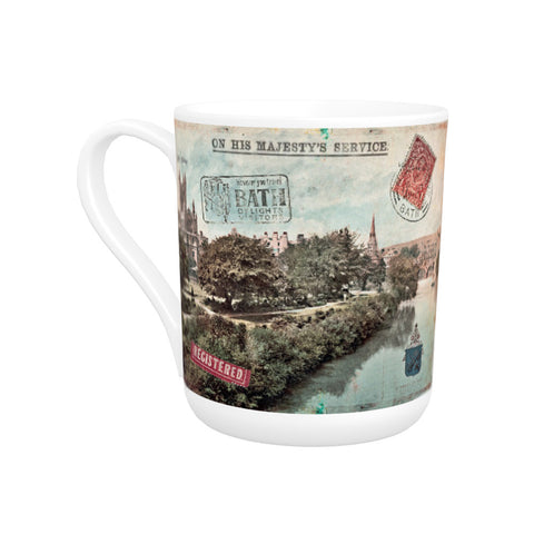 Bath Abbey Bone China Mug