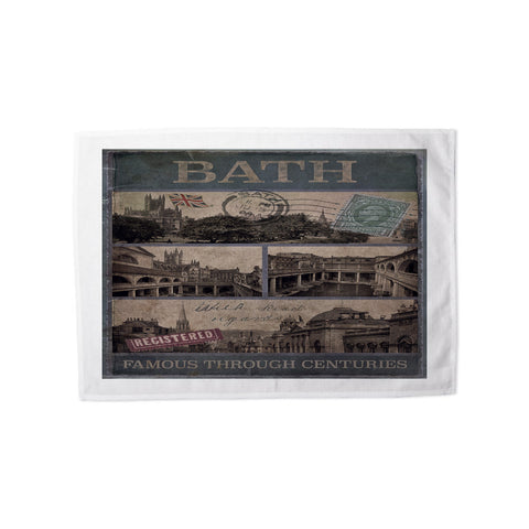 Bath, Famous Through Centuriies Tea Towel