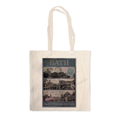 Bath, Famous Through Centuriies Canvas Tote Bag