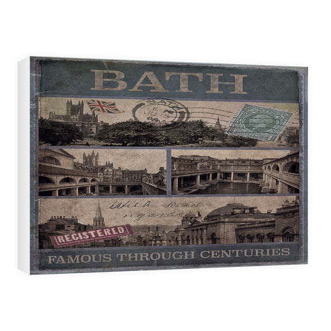 Bath, Famous Through Centuriies 60cm x 80cm Canvas