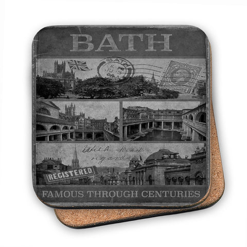 Bath, Famous Through Centuriies MDF Coaster
